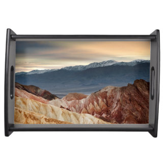 Golden Canyon at Sunset Serving Tray