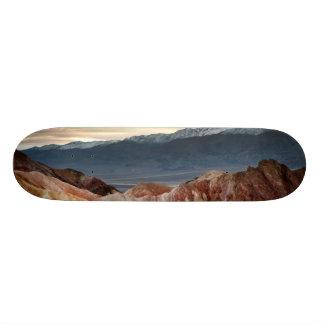 Golden Canyon at Sunset Skate Deck