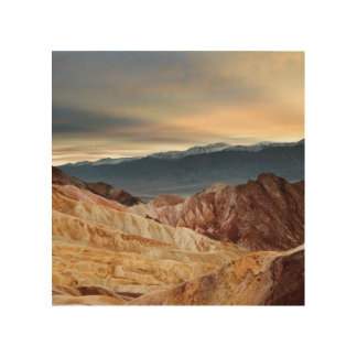 Golden Canyon at Sunset Wood Wall Art