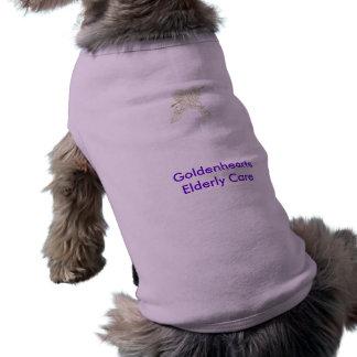 Golden Care for Golden Years Sleeveless Dog Shirt