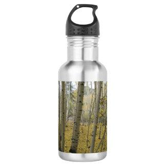 Golden Carpet Beneath a Grove of Quaking Aspen 532 Ml Water Bottle