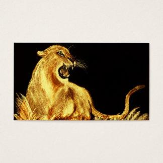 Golden Cat - Business Cards