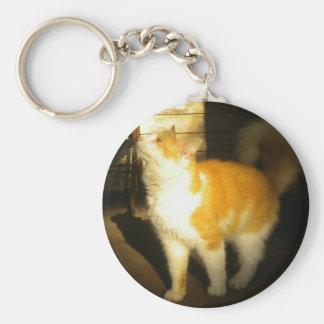 Golden Cat keychain