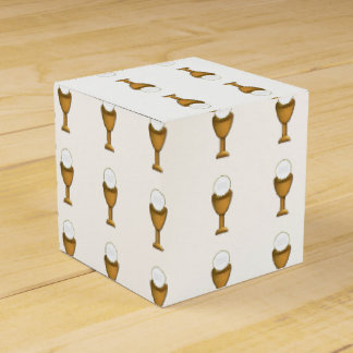 Golden Chalice and Host - Holy Communion Favour Box