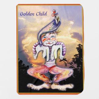 Golden Child Baby Blanket
