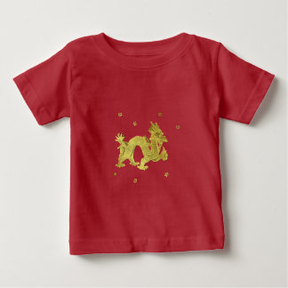 Golden Chinese Dragon Baby T-Shirt
