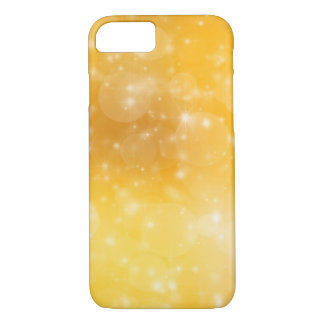 Golden Christmas Abstract iPhone 8/7 Cases
