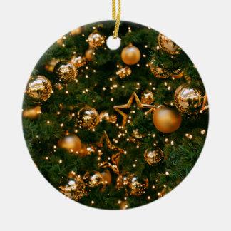 Golden Christmas Christmas Ornament