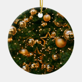 Golden Christmas Christmas Ornament