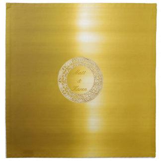 Golden Circle Napkin