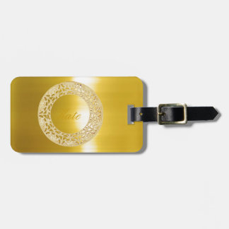 Golden Circle Luggage Tag