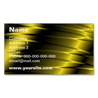 Golden Claws Magnetic Business Cards