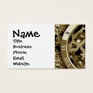 Golden Clocks and Gears Steampunk Mechanical Gifts