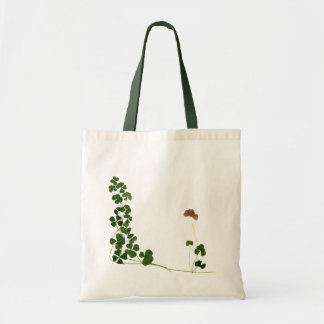 Golden Clover Dreams Budget Tote Bag