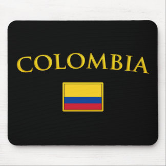 Golden Colombia Mouse Mat