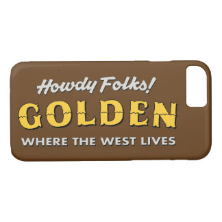 Golden Colorado iPhone Case