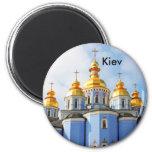 Golden copes of in cathedral in Kiev, Kiev Fridge Magnets