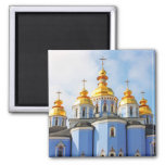 Golden copes of in cathedral in Kiev Fridge Magnets