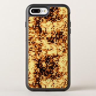 Golden Copper Mosaic Pattern OtterBox Symmetry iPhone 8 Plus/7 Plus Case