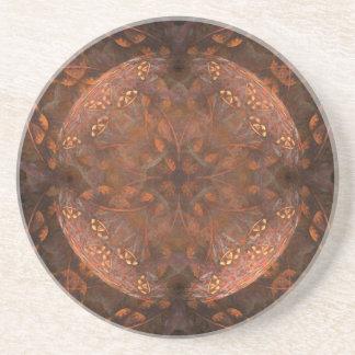 Golden Copper Shimmer Coaster