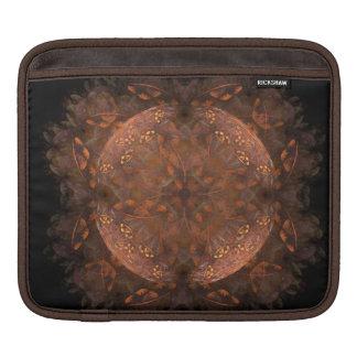 Golden Copper Shimmer iPad Sleeve