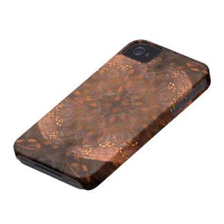 Golden Copper Shimmer iPhone 4 Cases