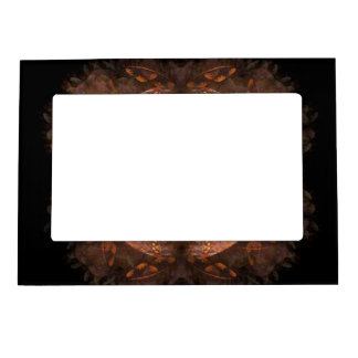 Golden Copper Shimmer Magnetic Photo Frame