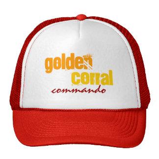 """""""GOLDEN CORRAL COMMANDO"""" - Trucker Hat! Cap"""