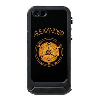 Golden Crop Circle Paranormal UFO Geek Incipio ATLAS ID™ iPhone 5 Case