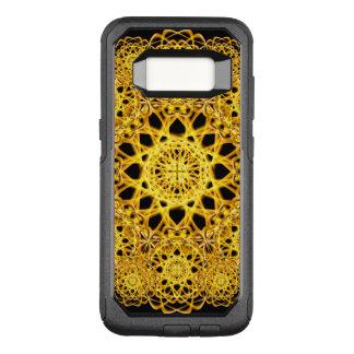 Golden Cross Mandala OtterBox Commuter Samsung Galaxy S8 Case