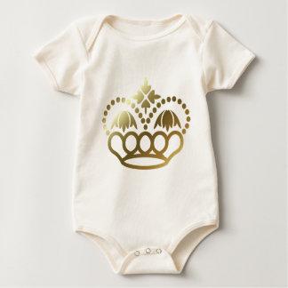 Golden Crown Baby Bodysuit
