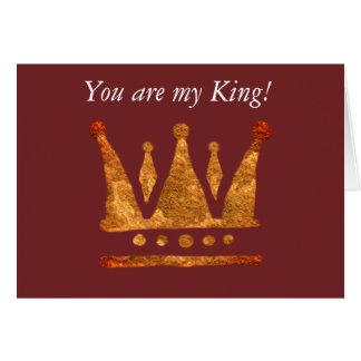 Golden Crown Custom Postcard