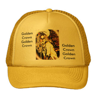 Golden Crown Hats by Kay Loven