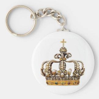 Golden Crown I Key Ring