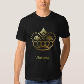 Golden crown Tee SHirt - Victoria