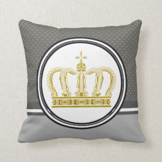 Golden Crown + your ideas Cushion