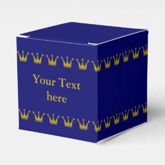 Golden Crowns Border + your ideas Favour Box