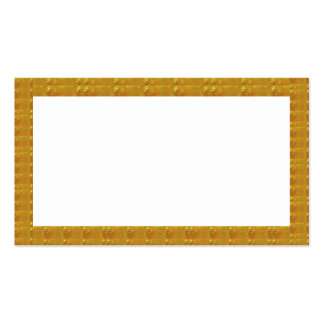 Golden Crystal Fashion Border Event FUN Business Business Card Template
