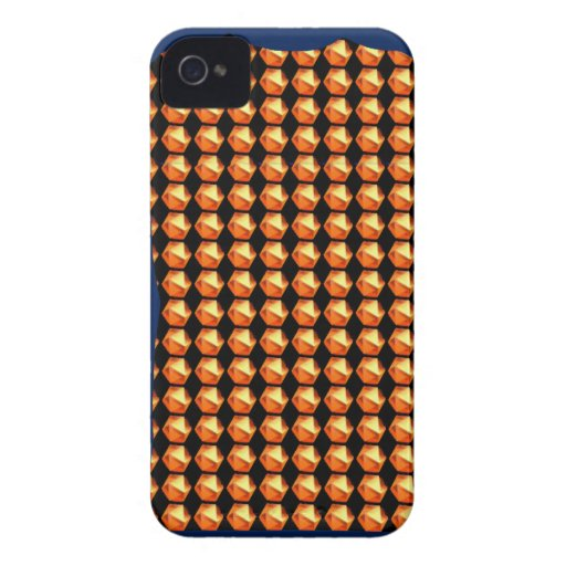 GOLDEN Crystal Pattern ART Healing GREETINGS GIFTS iPhone 4 Cases