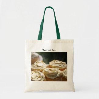 Golden Cupcakes Designs Tote Bags