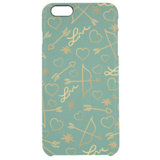 Golden Cupid Clear iPhone 6 Plus Case
