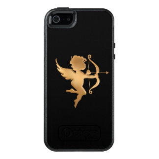 Golden Cupid OtterBox iPhone 5/5s/SE Case
