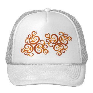 Golden curls cap