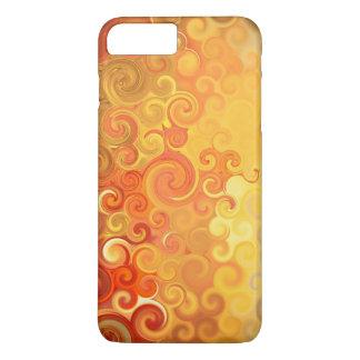 Golden curls iPhone 7 plus case