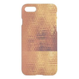 Golden Custom iPhone 7 Clearly™ Deflector Case