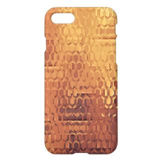 Golden Custom iPhone 7 Glossy Case