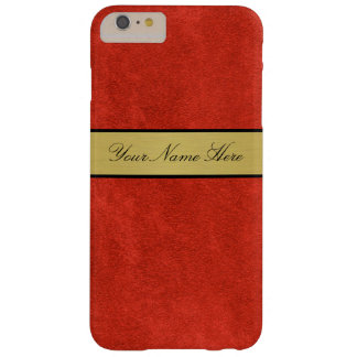 Golden Custom Name Iphone 6 Plus Case red fire
