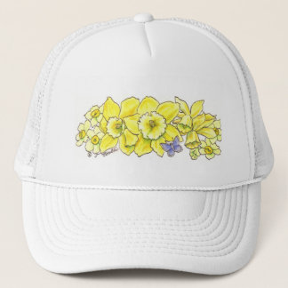 Golden Daffodil Hat