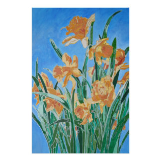 Golden Daffodils Posters