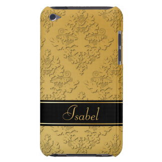 Golden Damask iPod Touch Cases